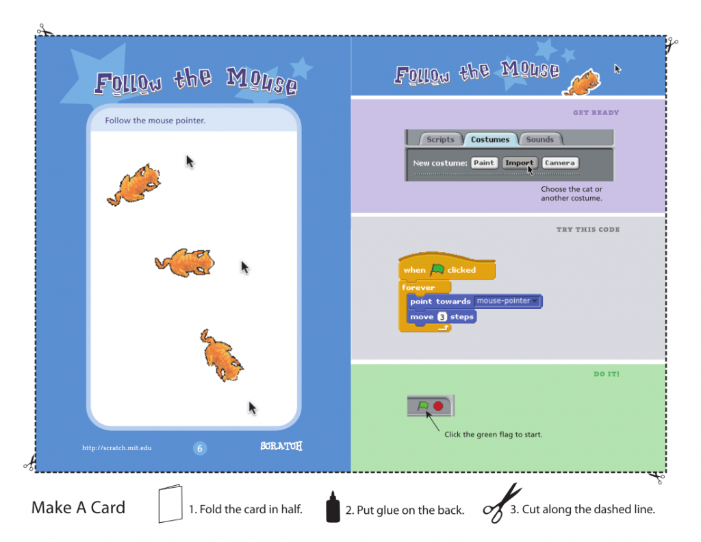 Scratch Card example