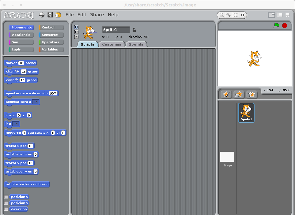 version offline de scratch