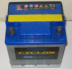 batería de automóbil
