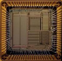 interior dun microprocesador